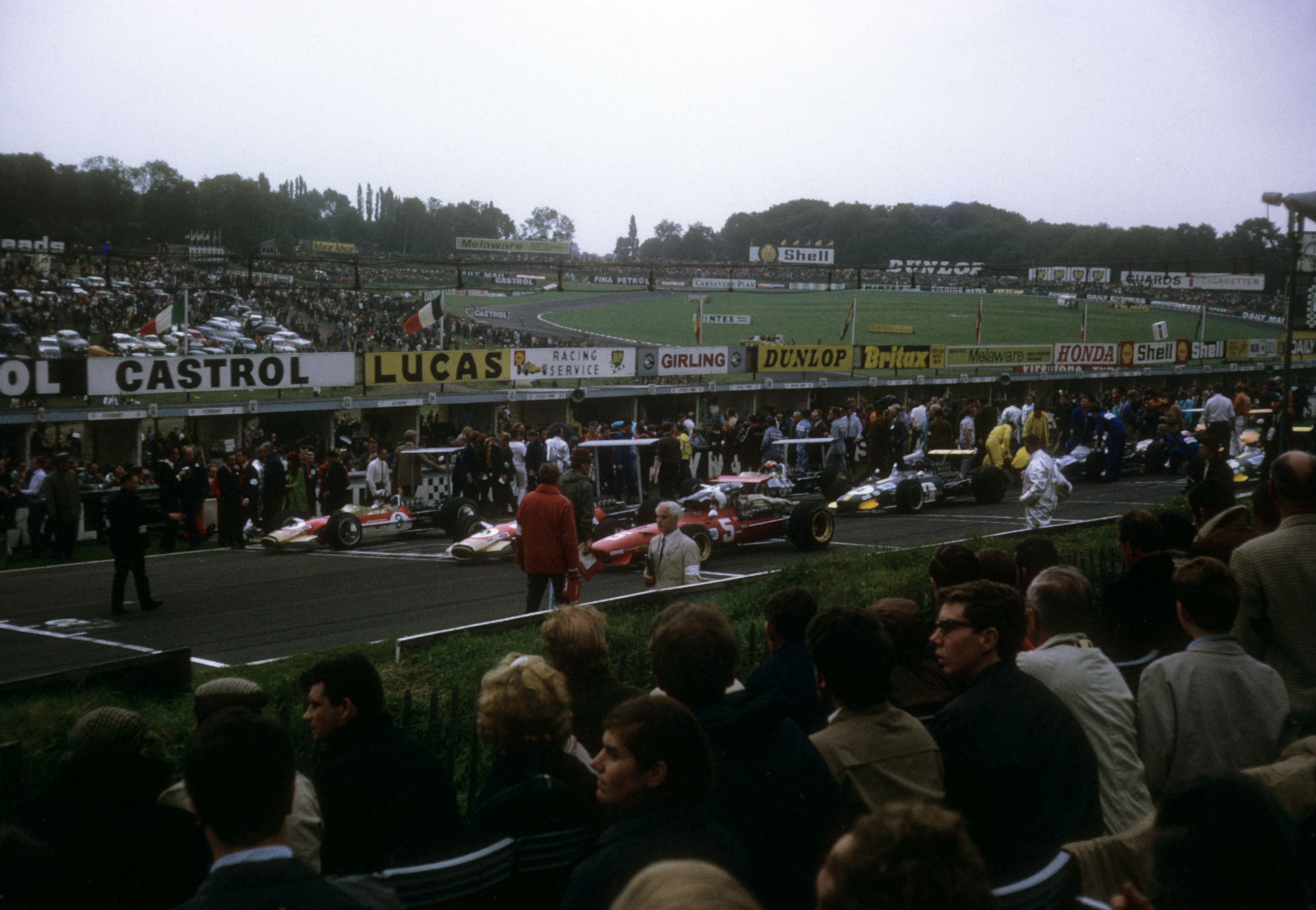 For Brian Mackey, it all started here.  This exact spot.  The 1968  British Grand Prix at Brands Hatch.  Photo by a mesmerized Brian Mackey.