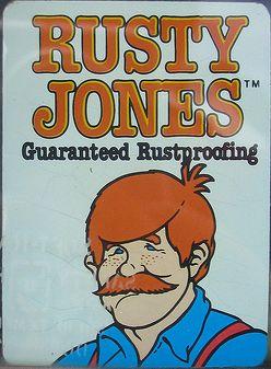 Rusty_Jones_sticker_(guaranteed_rustproofing)