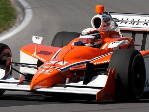 Francesco Dracone competing in Indy Car at Mid-Ohio (Photo:  Richard Sloop)